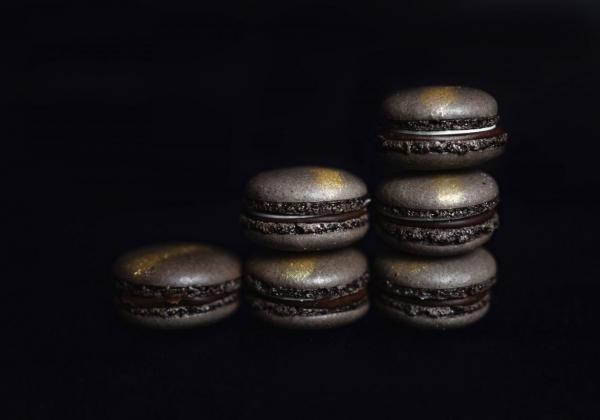 Makronka čokoládová