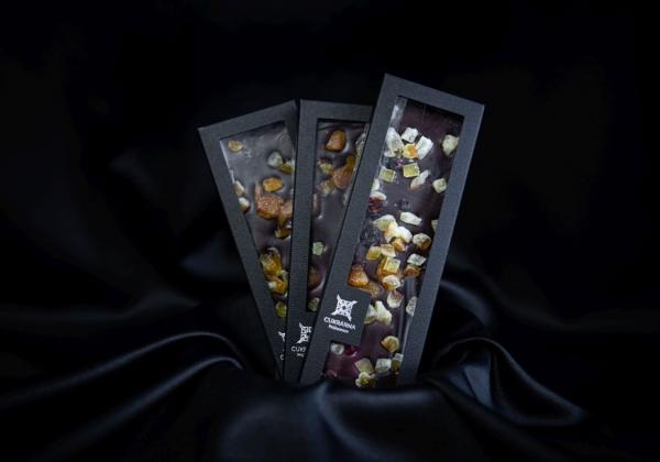 Čokoláda s kandovaným ovocem