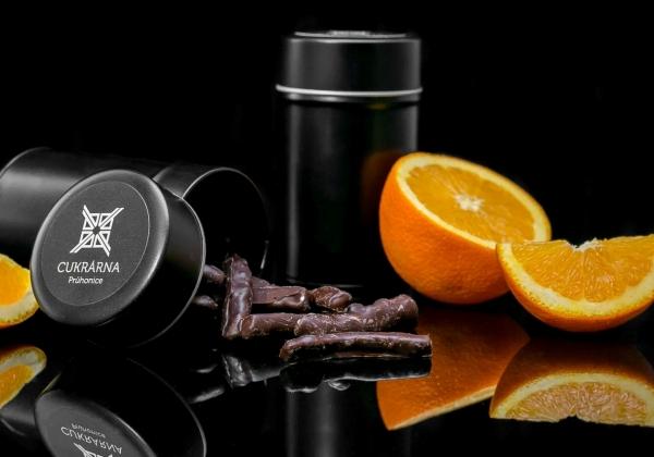 Pomerančová kúra v hořké čokoládě 100 g