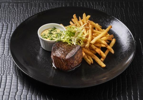 Steak frites Bordelaise