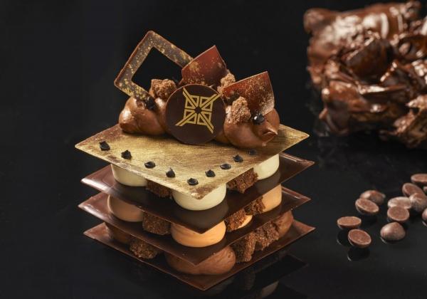 Millefeuille chocolat - bezlepkový